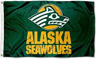 Alaska Seawolves Alaska Seawolves University Large College Flag