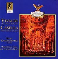 Due Salmi Rv.604, 605 / Missa Solemnis Pro Pace / Orchestra E Coro Del Teatro La Fenice / I.karabtchevsky