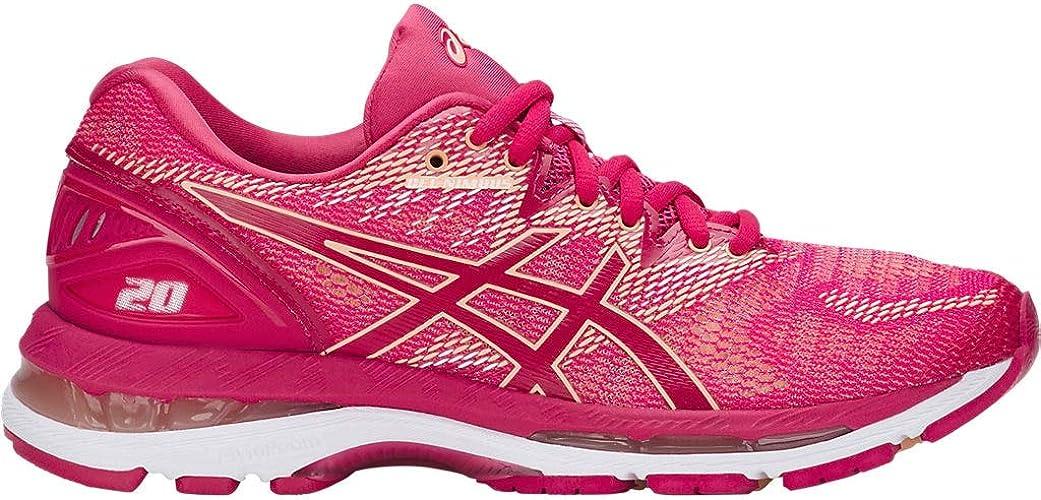 ASICS femmes Gel-Nimbus 20 Running chaussures, Rose, 11 B(M) US