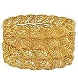 YOUZHA Bracelets Bracelet de mariage de couleur or éthiopie