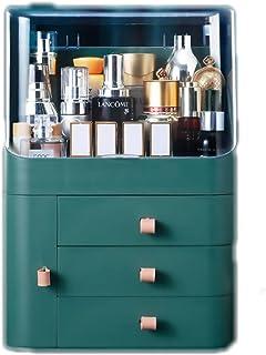 Cosmetische Opbergdoos, Make-up Organizer, Grote Capaciteit Verzorgingsproducten en Cosmetica Badkamer Desktop Lade Elegan...