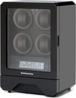 BARRINGTON - Automatic Watch Winder for 4 Watches - Luxury, Quality Quad Watch Winder Box, Super Quiet Motor, AC Adapter -...