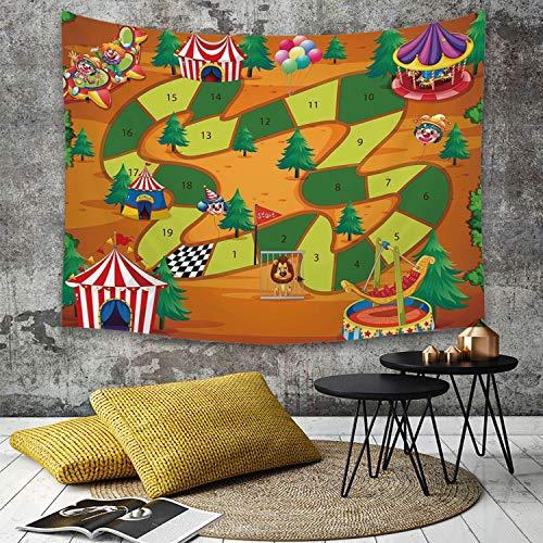 Yaoni Tapestry Pared paño Mantel Toalla de Playa,Juego de Mesa, diseño temático...