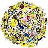 ZSWQ 100 Stück Kinder Aufkleber Cartoons Aufkleber für Laptop, Wasserflasche, Gitarre, Fahrrad, Gepäck, Skateboard, Graffiti, Süßes Abziehbild, Kinder, Teenager