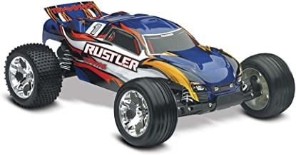 Traxxas Rustler RTR with XL-5 ESC Vehicle, Blue