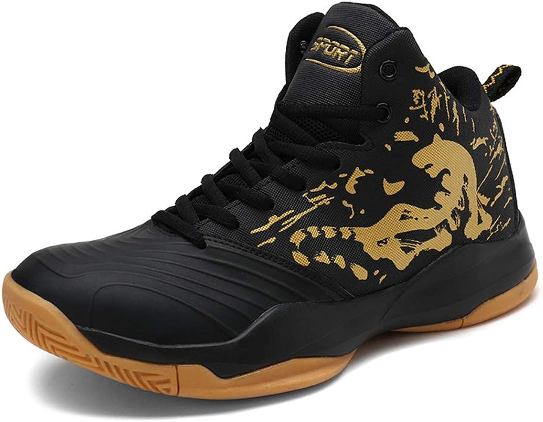 222816d905277 Men's Basketball shoes High-top Non Slip Slip Slip Wear- Resistant ...
