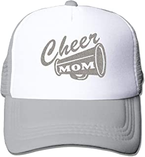 Cheer Mom Baseball Hat CapAdjustable Back Mesh Cap Men Women