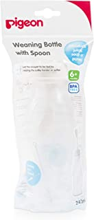 Pigeon Weaning Bottle, 240 ml - Pack of 1 03329