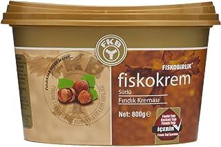 Fiskobirlik Fiskokrem Sütlü Fındık Kreması 800 Gr