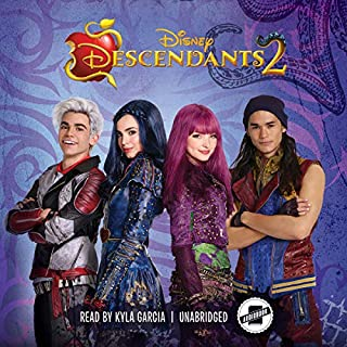 Descendants 2     The Descendants Series, Book 2              By:                                                                                                                                 Eric Geron                               Narrated by:                                                                                                                                 Kyla Garcia                      Length: 3 hrs and 51 mins     Not rated yet     Overall 0.0