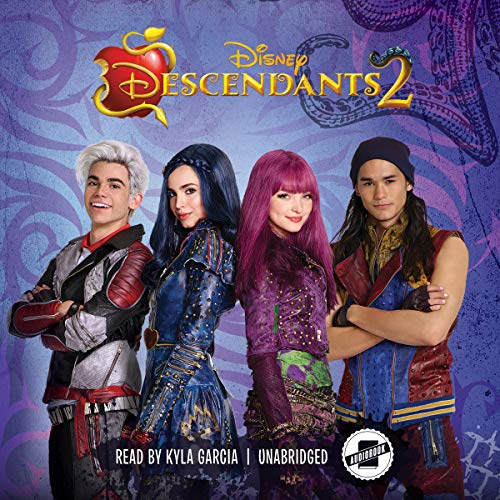 Descendants 2 audiobook cover art