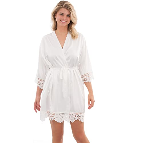 VEAMI Juliette Lace Bridal Robe 568430735