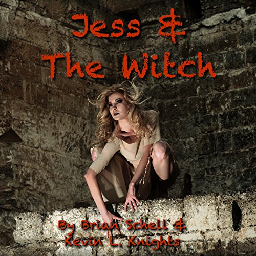 Jess and the Witch audiobook cover art