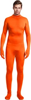 Unisex Adult Costume Without Hood Lycra Spandex Stretch Zentai Unitard Body Suit