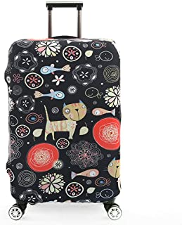 Travel Luggage Cover Fits 18-32 Inch Luggage Elastic Suitcase Protective Cover Trolley Case Protective Cover, Starry Serie...