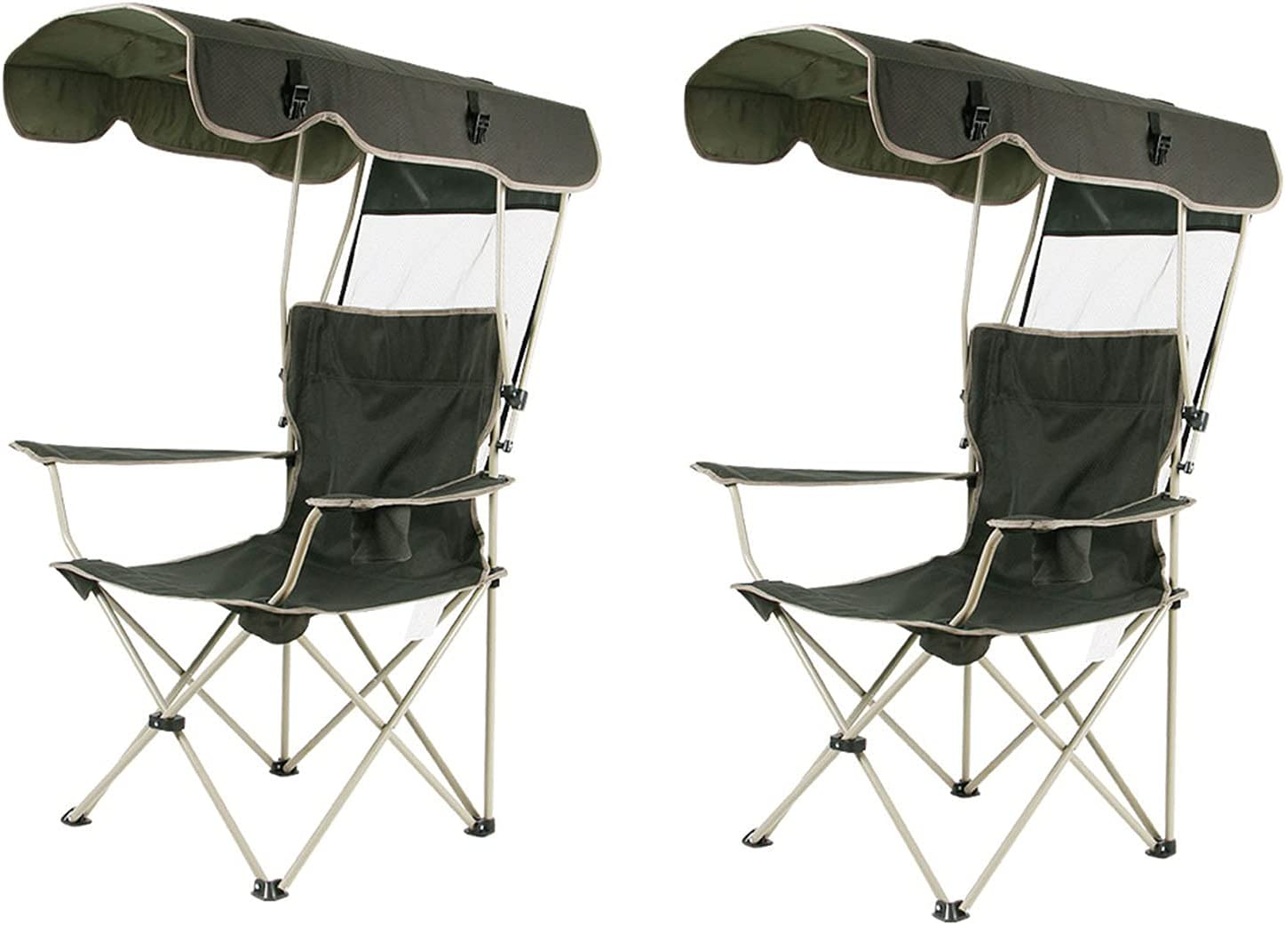 LHQ-HQ Camp Chairs with Shade Ultralight Support Portable Canopy Regular store Nippon regular agency
