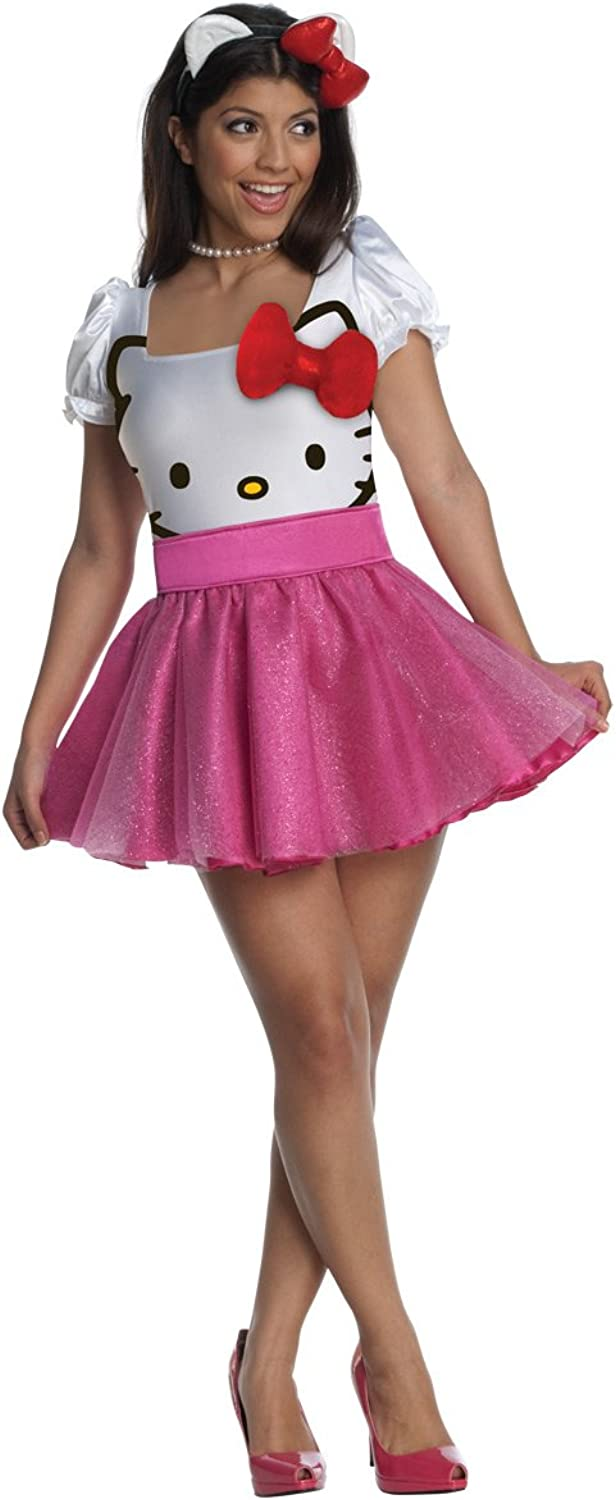 Secret Wishes Hello Kitty Sexy Pink Costume
