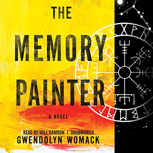 The Memory Painter audiobook cover art