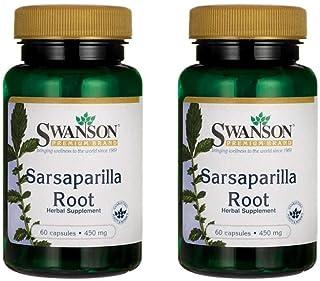 Sponsored Ad - Swanson Sarsaparilla Root 450 mg 60 Caps 2 Pack