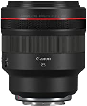 Canon RF 85mm F1.2 L USM Lens, Black