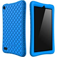 Bear Motion Silicone Case for All-New Fire 7 Tablet with Alexa - Anti Slip Shockproof Light...