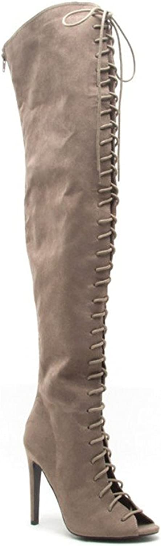 Qupid Women's Interest-87 Slouch Boot