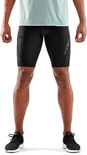 Skins Mens SKINS Compression DA99050029033S, Black/Black, Small