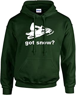 Trenz Shirt Company Got Snow Hoodie Snowmobile
