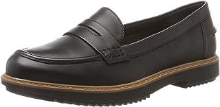 Clarks Raisie Eletta, Mocassins (Loafers) Fille, Noir (Black Leather), 35.5 EU