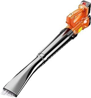 BKWJ Souffleur de Feuilles sans Fil 21 V avec Batterie et Chargeur, souffleur à Main léger, aspirateurs balayeurs électriq...