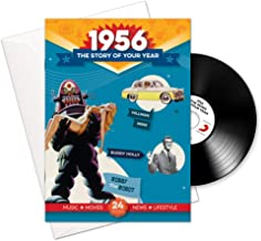1956 Birthday or Anniversary Gifts - 1956 4-In-1 Card and Gift - Story of Your Year , CD , Music Download