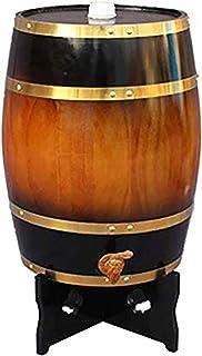 ZGQJT en fûts de chêne de vin, Table d'affichage étagère de Rangement en Bois, Stocker Votre Propre Whisky, bière, vin, Co...
