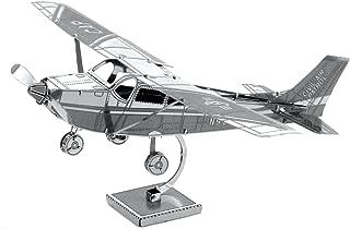 Fascinations Metal Earth Cessna 172 Airplane 3D Metal Model Kit