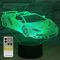 【LED Creative Visual Effect】 16 Colors Changing ,Various options for colors,you can either stay on one color or rotate through all of them.With the optical Acrylic flat panel and special design of electric circuit,you will have an amazing visual illu...