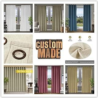 Best pure luxury linen belgian linen window panels Reviews