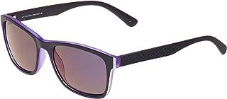 الولايات المتحدة الأمريكية البولو نظارة شمسية بتصميم مربع، اطار وعدسات بلون بنفسجي، 2705 VIOLET
