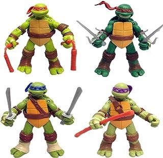 Ninja Turtles Set of 4 PCS | Action Figure | Ninja Turtles Toyset Mutant Teenage Set