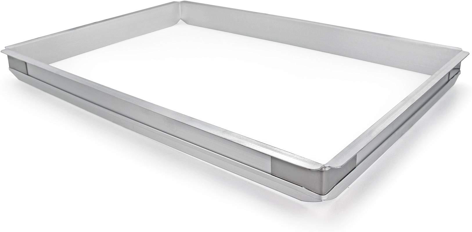 New Star Foodservice 42573 Aluminum Sheet Bun Pan Extender 18 X 26 Inch Full Size