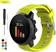 Bemodst para Suunto Spartan Sport Strap, Accesorio de Reemplazo de Silicona Reloj Pulsera Banda Correa para Suunto Spartan Smartwatch