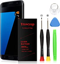 Galaxy S7 Edge Battery,Trswyop Upgraded 3800mAh Li-ion Replacement Battery EB-BG935ABE for Samsung Galaxy S7 Edge G935V G935P G935A G935F G935T G935R4 with Free Tool Kit [24 Month Warranty]