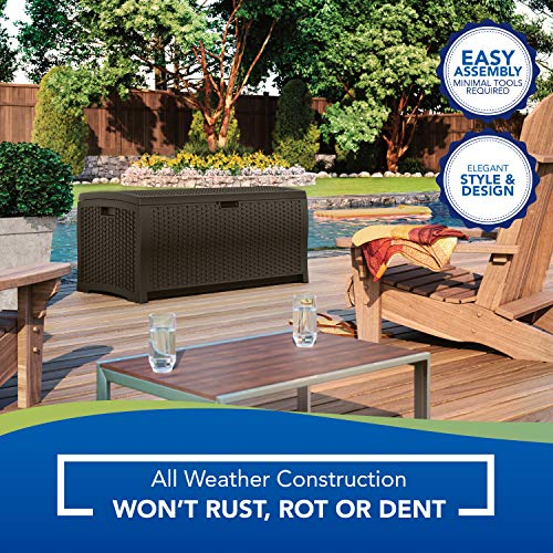 Suncast 73 Gallon Deck Box DBW7300