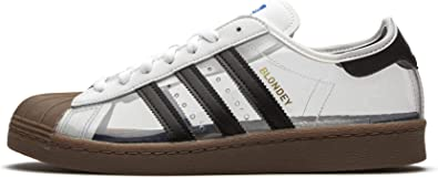 Amazon.com | adidas Superstar 80s by Blondey (White/Core Black ...