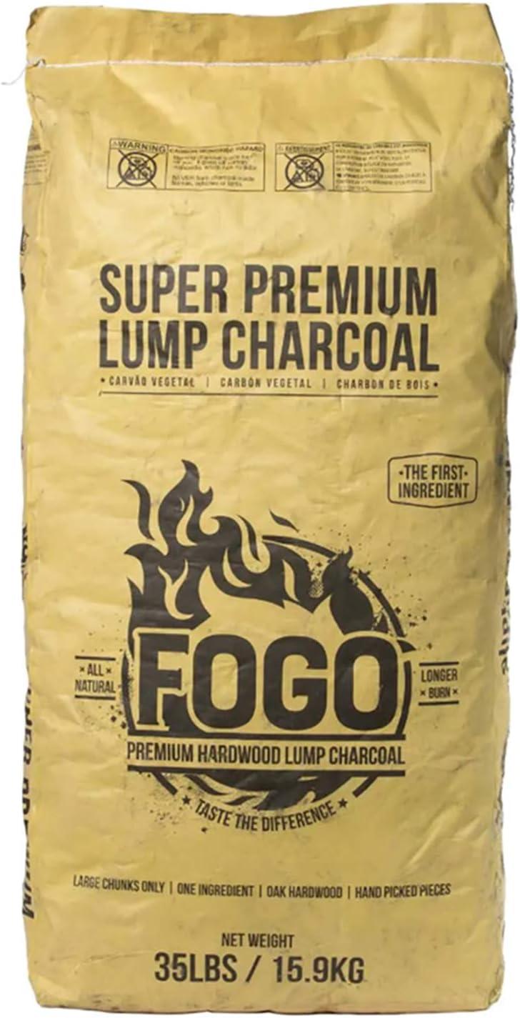 Fogo Super Premium Oak Lump Charcoal for Smoking Sessions