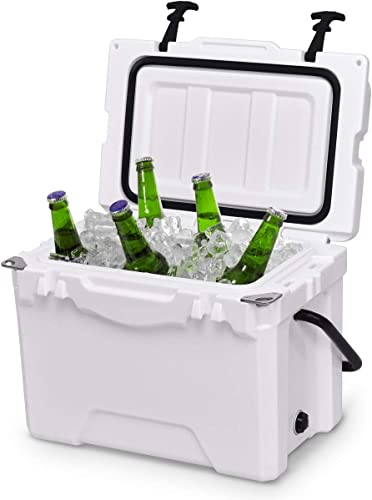 2021 Giantex 20 2021 Quart Portable Cooler Ice Chest Outdoor Insulated online sale Heavy Duty Cooler with Carrying Handle Fishing Hunting Sports outlet online sale