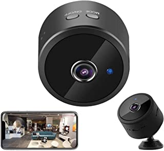 Spy Camera WiFi Hidden Camera Wireless 40 Days Battery Life Security Cam Real-time Remote View Switch Mini HD Motion Detec...