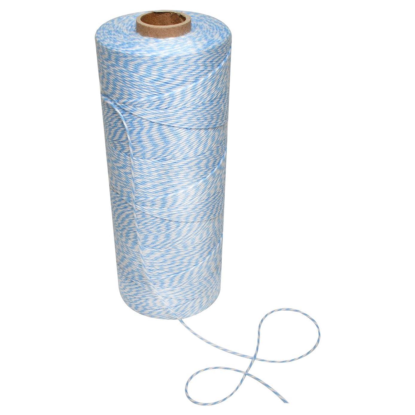 Morex Ribbon 1201.02/00-602 Polyester Baker's Twine Craft Supplies, 1/16