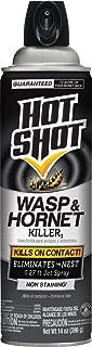 Hot Shot 13415 HG-13415 Wasp & Hornet Killer, Aerosol Spray, 14-Ounce, 14 oz, Brown/A