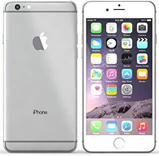 Apple iPhone 6 Plus Plata 64 GB (Renewed)