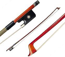 Honeytecs NAOMI VB0908-029 Brazilwood clássico 4/4 Arco de violino Peso leve Equilíbrio adequado Crina de cavalo da Mongól...