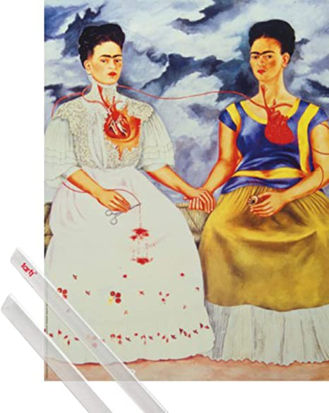 Frida Kahlo 11 Poster de film Meilleur impression Art Reproduction Qualit/é Mur D/écoration Cadeau Canvas A1